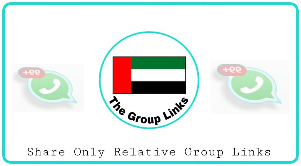 Join Dubai whatsapp group links