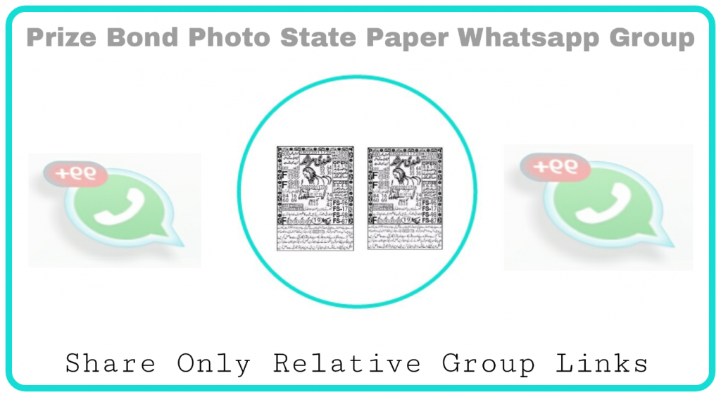 Prize Bond photo State paper whatsapp group links