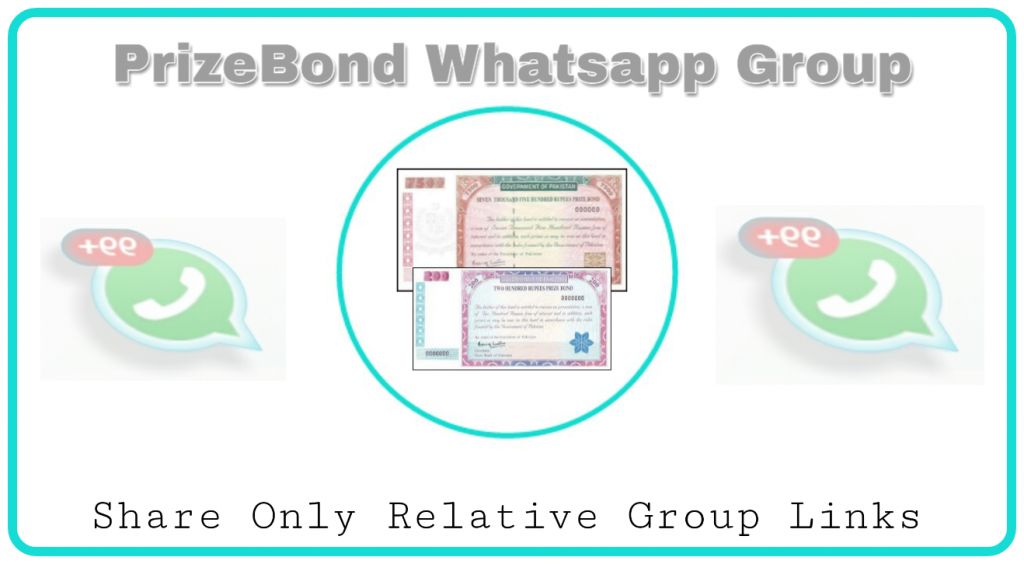 Prize Bond whatsapp group