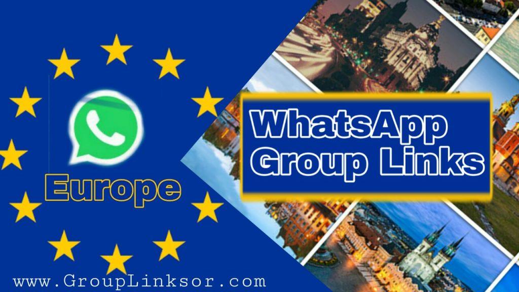 WhatsApp invitation Group For Europe | European countries Whatsapp Groups