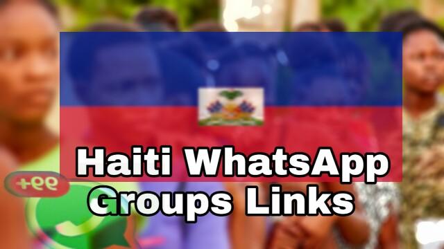 Haiti whatsapp groups join