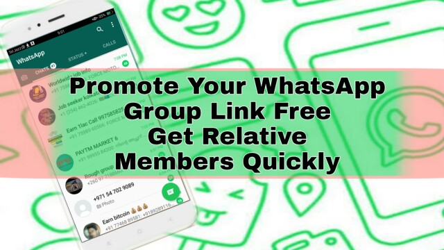 Fast Whats App Group Promote Free  Get Members Promote WhatsApp Group Link Quickly, Get Group Members Fast,
