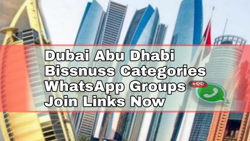Whatsapp Group link Dubai arab