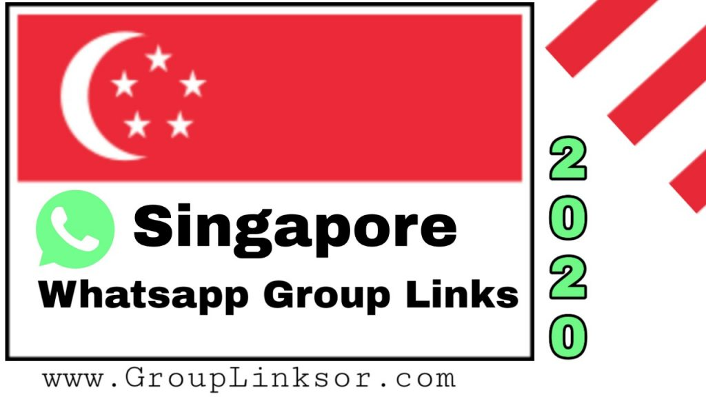Singapore whatsapp group links