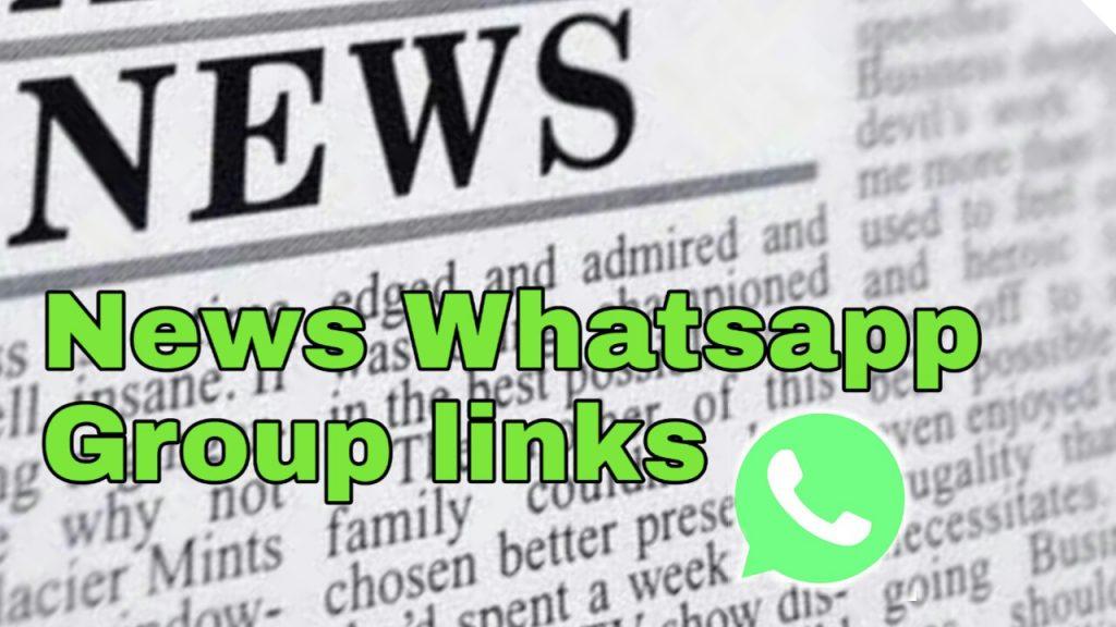 News Whatsapp Group Link | News Whatsapp group links 2020 | Latest News Whatsapp Group link 2020
