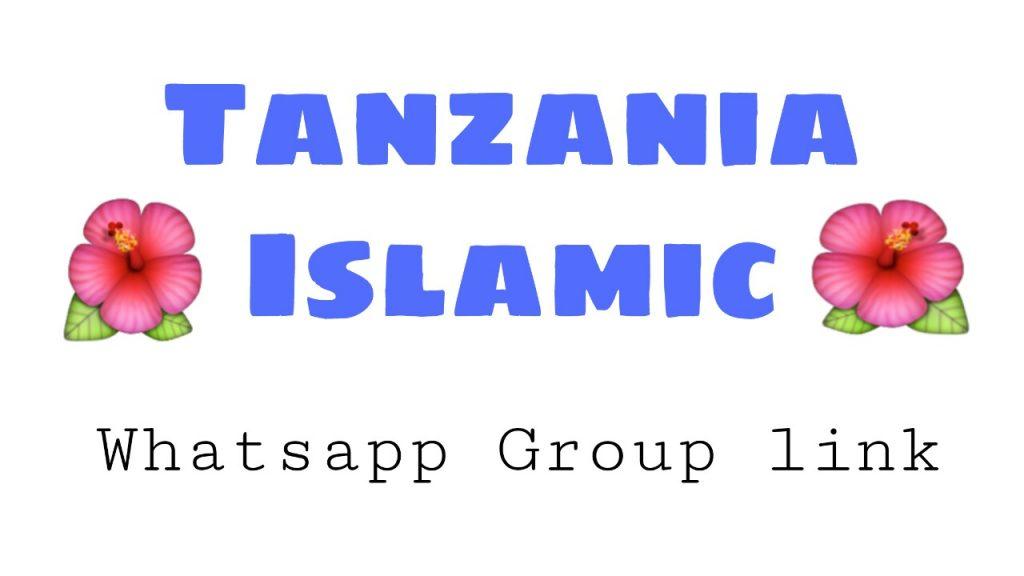 Tanzania Islamic whatsapp group link