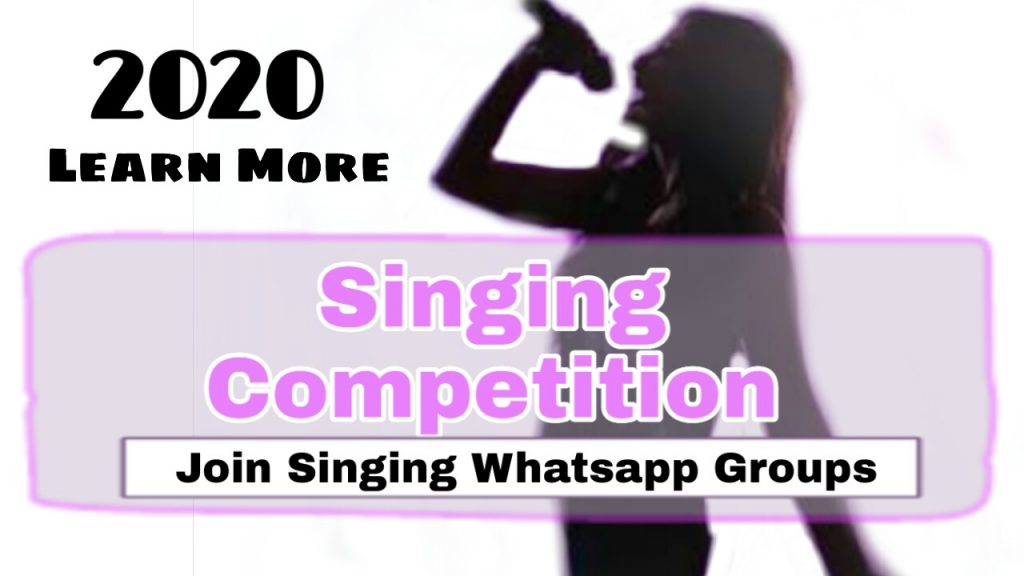 Join singing competition 2020