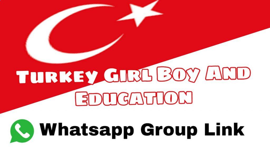 Turkish Boy Girl whatsapp group link