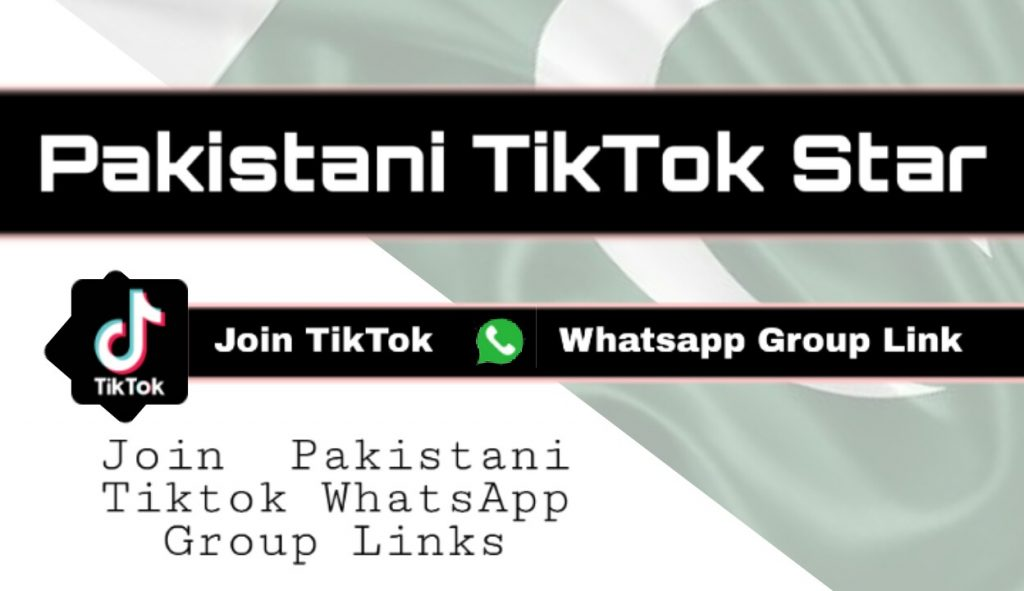 Pakistani tikok whatsapp group links